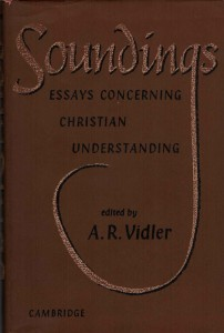 The cover of the first edition of Soundings, from 1962.
